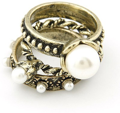 Cinderella Fashion Jewelry Stylish Alloy Ring Set