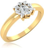 Forevercarat Elegant Silver Diamond 14K Yellow Gold Ring best price on Flipkart @ Rs. 9255