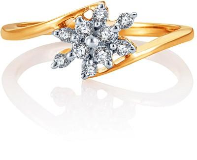 Karatcraft Decoro Yellow Gold Diamond Ring