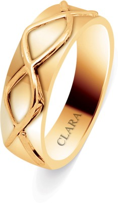 Clara The Doro Sterling Silver Swarovski Crystal 18K Yellow Gold Ring