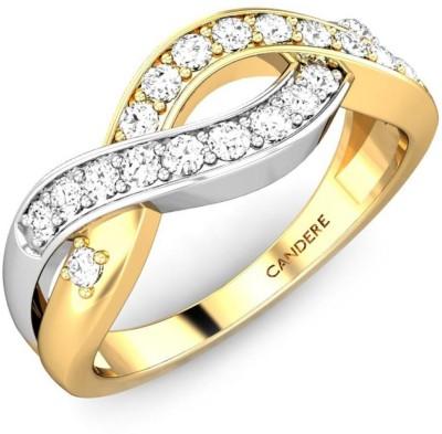 Candere Aakanksha 14kt Diamond Yellow Gold ring