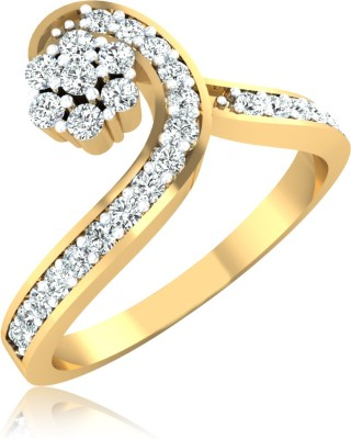 WearYourShine by PC Jewellers The Nayana 14kt Diamond Yellow Gold ring