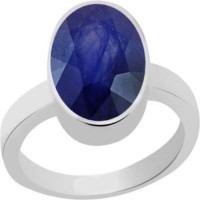 PTM Certified Natural Blue Sapphire (Neelam) Gemstone 6.25 Ratti or 5.69 Carat Sterling Silver Sapphire Sterling Silver Ring best price on Flipkart @ Rs. 5565