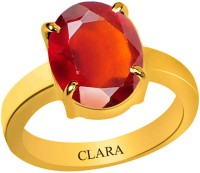 Clara Gomed Hessonite 3.9 carat or 4.25ratti Panchdhatu Silver Garnet Yellow Gold Ring best price on Flipkart @ Rs. 1770