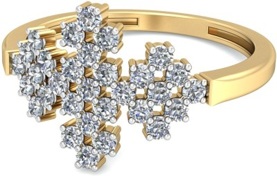 WearYourShine by PCJ The Isol Diamond 18kt Diamond Yellow Gold ring