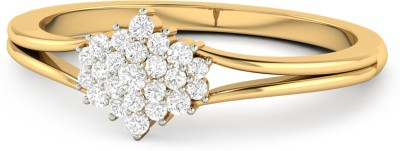 WearYourShine by PC Jewellers The Andresa 18kt Diamond Yellow Gold ring at flipkart