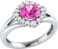 Demira Jewels Alluring White Gold Sapphire, Diamond 14K White Gold Ring best price on Flipkart @ Rs. 16671