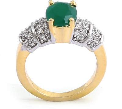 Sree Collection Alloy 18K Yellow Gold Ring
