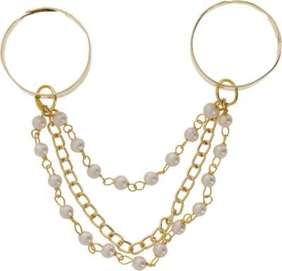 Niara Brass Nail Ring
