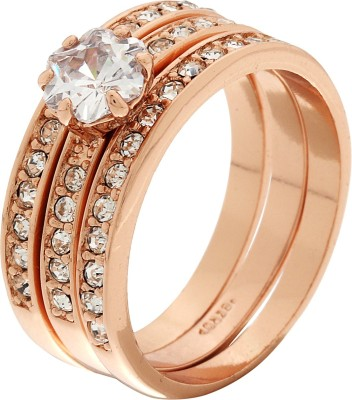 Jwells & More 3 In 1 Alloy Ring Set