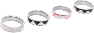Dressberry Metal Enamel Plated Ring at flipkart