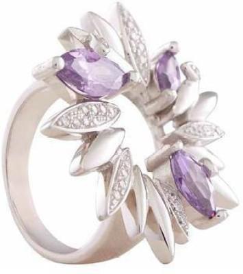 VelvetCase Vetro Orchid Ring Brass Ring