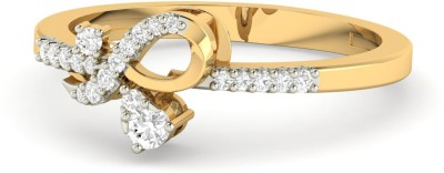 WearYourShine by PC Jewellers PC Jeweller The Maddalena 18kt Diamond Yellow Gold ring at flipkart