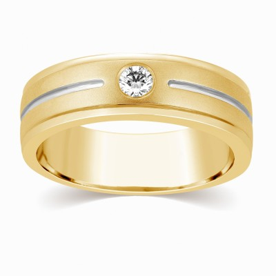 Kama Jewellery Arlo Couple Band - His Diamond Platinum ring