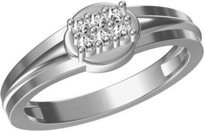 AG Jewellery Urmila Sterling Silver Swarovski Crystal Ring