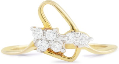 Paliwal Jewelers Golden Strand 18kt Diamond Yellow Gold ring