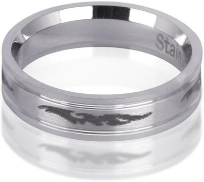 Revv Designer Steel Ring