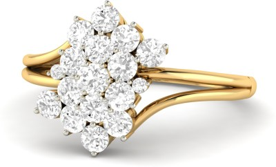 WearYourShine by PC Jewellers PC Jeweller The Gladwyne 18kt Diamond Yellow Gold ring at flipkart