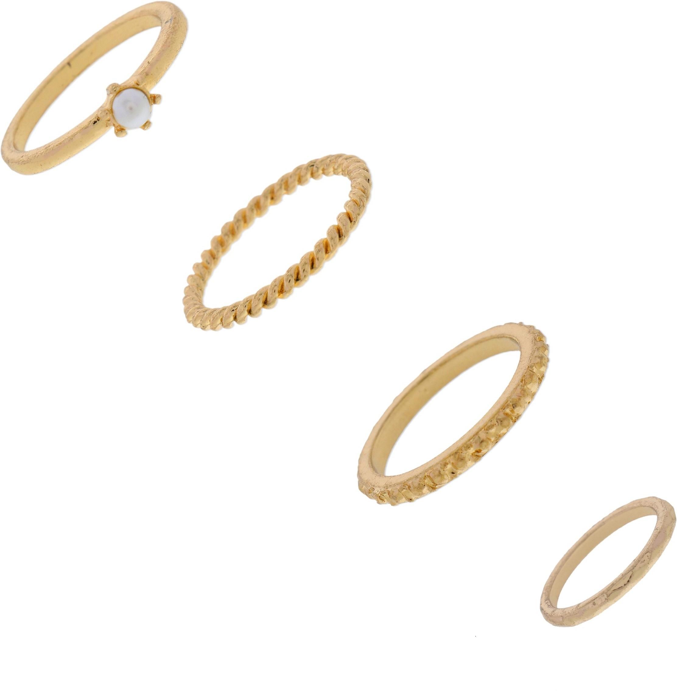 Deals - Delhi - Stacked Rings <br> Trendy Jewellery<br> Category - jewellery<br> Business - Flipkart.com