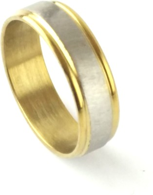 Italian Fashion Goldan Touch Stainless Steel Ring