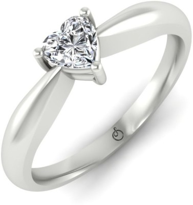 Stylori Quola Bud 18kt Diamond White Gold ring