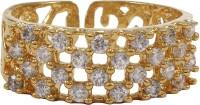 Moda Stella American Diamond 24 Karat Gold Plated Diamond Ladies Ring Brass 24K Yellow Gold Ring best price on Flipkart @ Rs. 124