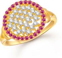 Meenaz Cute Splendid Gold And Rhodium Alloy Ring