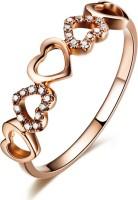 Sheetal Diamonds Valentine Gift Metal Diamond 14K Rose Gold Ring best price on Flipkart @ Rs. 14099