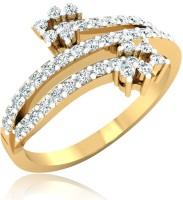 Forevercarat Brilliant Silver Diamond 14K Yellow Gold Ring best price on Flipkart @ Rs. 13581