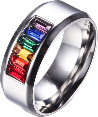Ruvee Alloy Zircon Titanium Ring