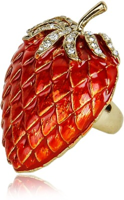 Sparkle Street Metal Ring at flipkart