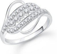 VK Jewels Impressive Alloy Cubic Zirconia Rhodium Plated Ring