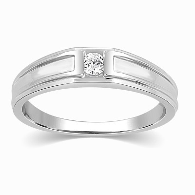 Kama Jewellery Wren Diamond Platinum ring