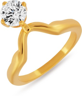 Mahi Albatross Alloy 24K Yellow Gold Ring