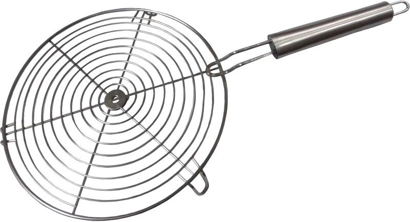 Kartik Plain 0.5 kg Roaster(Steel, White)