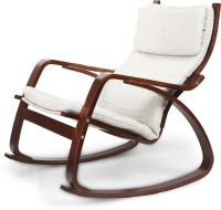 Home Town Vita Engineered Wood 1 Seater Rocking Chairs(Finish Color - Brown)