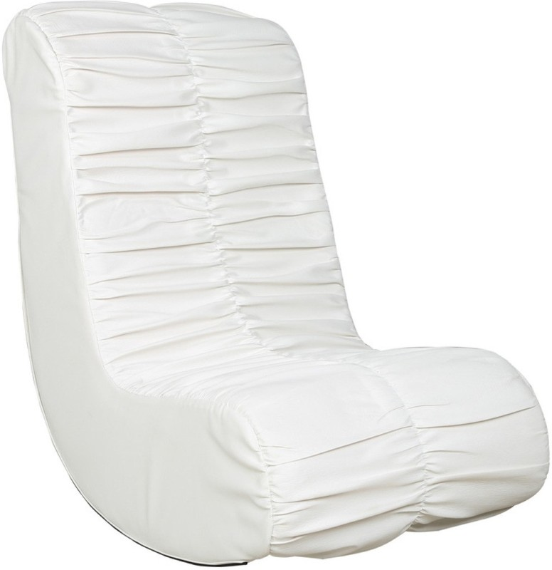 Parin Leatherette 1 Seater Rocking Chairs(Finish Color - White)