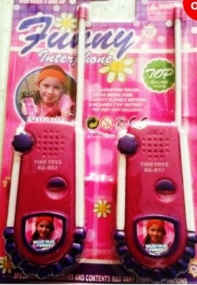 Shop & Shoppee Pink Princess Walkie Talkie Set