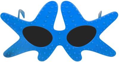 Funcart Blue Starfish Glasses