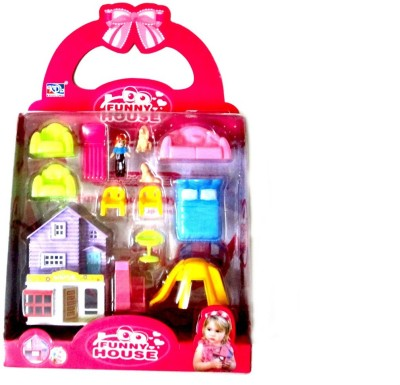 WebKreature Funny House Play Set for Kids