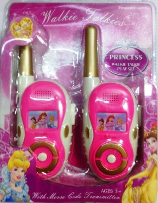 Shop & Shoppee Princess Walkie Talkie play set