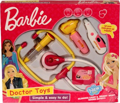 Saffire Pink Doctor Set With Lights And Heartbeat Sound