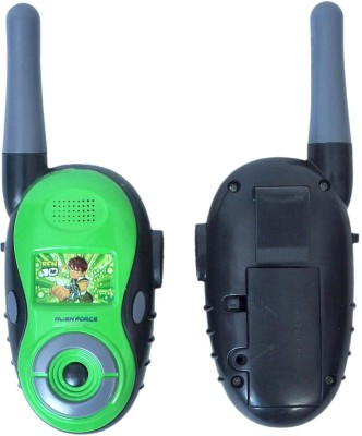 Turban Toys Battery Operated Ben10 Walkie Talkie
