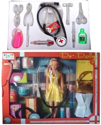 New Pinch Doll set with doctor Set