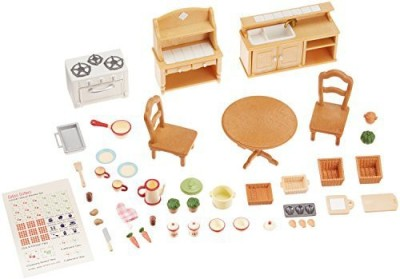 Calico Critters Critters Deluxe Kitchen Set