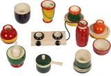 MNC Wooden Kitchen Set Toy