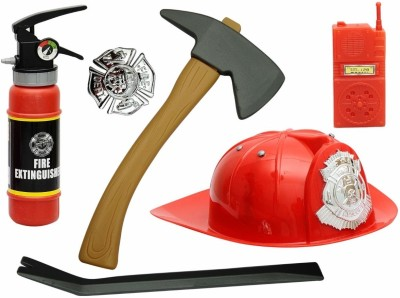 Ollington St. Collection Fire Fighter Set with Firemans Helmet
