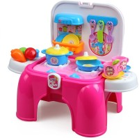 Xiong Cheng 2 in 1 Portable Kitchen Set with Light and Sound