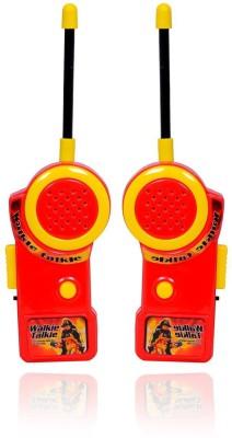 Planet of Toys Fireman Walkie Talkie