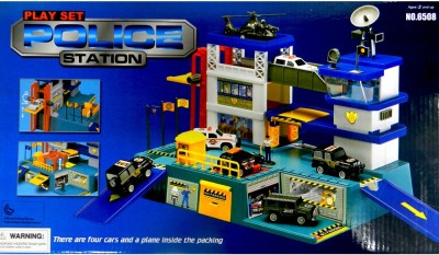 Shop Street Play Set Police Station